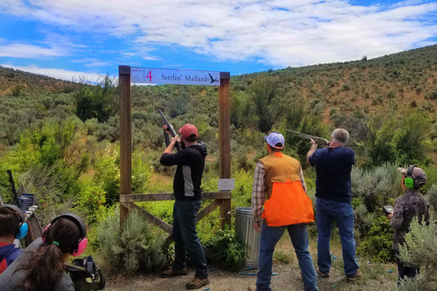 4h shoot sporting clays course shooting lessons