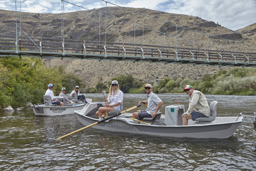fly fishing corporate group getaway