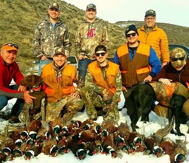 pheasant hunting guides in Washington state