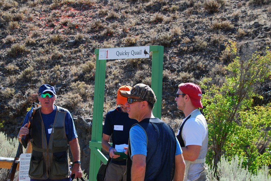 sporting clays shooting class