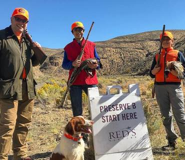 upland 101 class pheasant hunting preserve