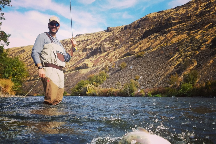 Wade fishing hooked up nymphing yakima canyon